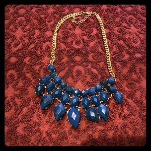 Large costume jewelry necklace